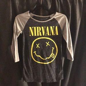 Nirvana Ringer Tee